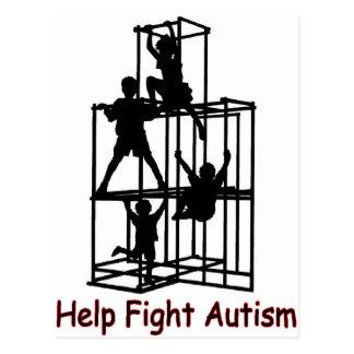 sombra del autismo postal
