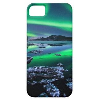 Sombra del cielo nocturno que remolina funda para iPhone SE/5/5s