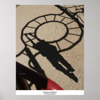 Sombra del patio impresiones