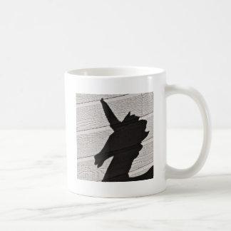 Sombra del unicornio tazas