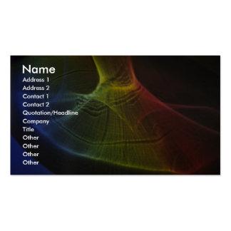 Sombra espectral tarjetas de visita