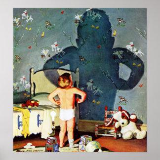 Sombra grande Little Boy 22 de octubre de 1960 Posters