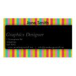 Sombra lisa para los diseñadores plantilla de tarjeta personal
