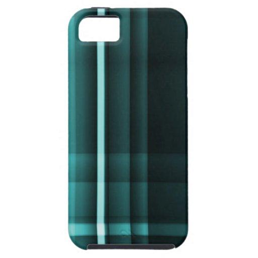 Sombras abstractas y texturizadas de las rayas del iPhone 5 fundas