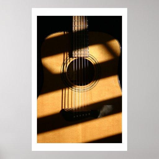 Sombras acústicas póster