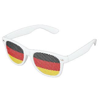 Sombras alemanas del fiesta de la bandera lentes de sol
