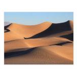 Sombras asombrosas del desierto postales