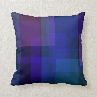 Sombras de la almohada azul de MoJo del americano