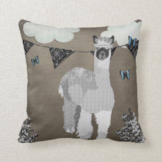 Sombras de la alpaca de la almohada gris de Mojo