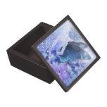 Sombras de la caja de regalo superior azul cajas de recuerdo de calidad