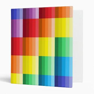 Sombras de la carpeta de anillo de los colores 3