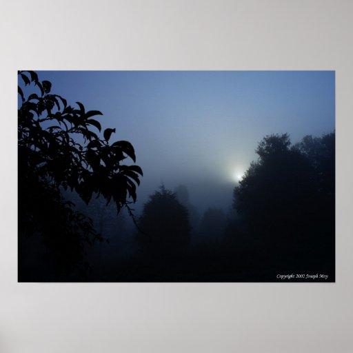Sombras de la mañana posters