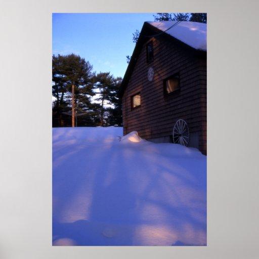 Sombras de la nieve posters