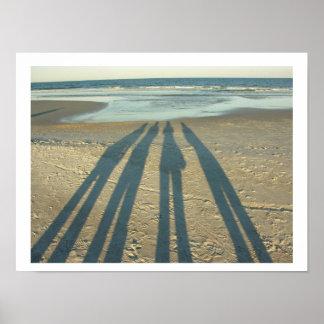 Sombras de la playa posters