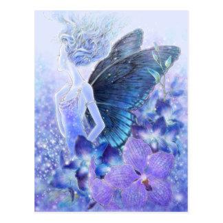 Sombras de la postal azul