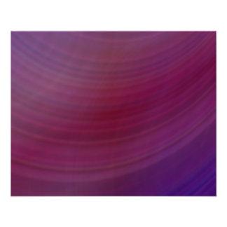 Sombras de la púrpura folleto 11,4 x 14,2 cm