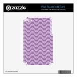 Sombras de la púrpura iPod touch 4G calcomanías
