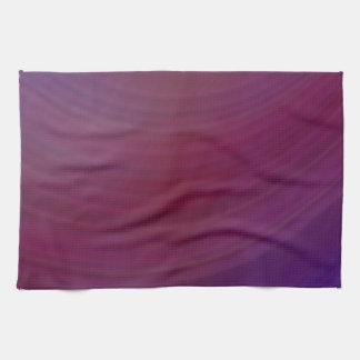 Sombras de la púrpura toallas