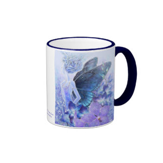 Sombras de la taza azul 2-Sided