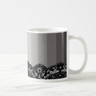 Sombras de la taza de café gris