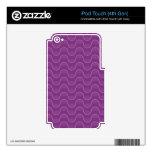 Sombras de la violeta iPod touch 4G skin