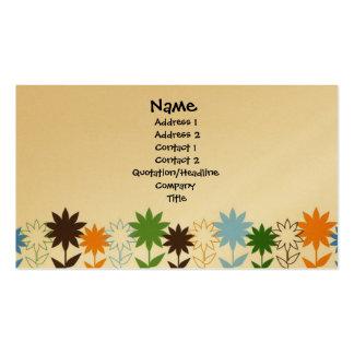 Sombras de los girasoles - modificadas para requis tarjeta de visita