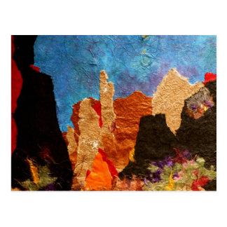 Sombras de Sedona, collage Tarjetas Postales