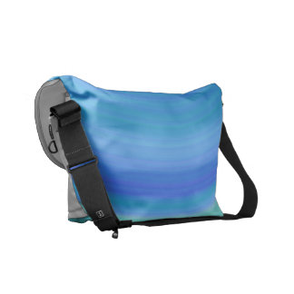 Sombras del azul bolsa messenger