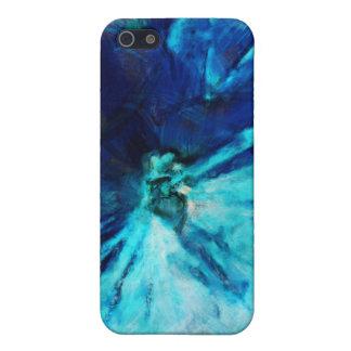 Sombras del azul iPhone 5 carcasas