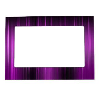 Sombras del bastidor magnético púrpura marcos magneticos de fotos