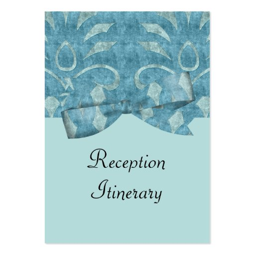 Sombras del boda azul de la mirada del terciopelo plantillas de tarjetas personales