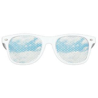 Sombras del caminante de los cielos azules lentes de fiesta