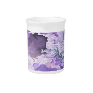 Sombras del diseño abstracto swirly dentado de la  jarras