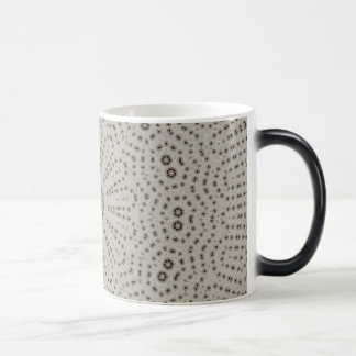 Sombras del diseño gris del modelo del fractal taza mágica
