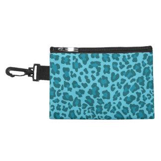 Sombras del estampado leopardo del azul