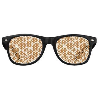 Sombras del fiesta de los puntos de la jirafa lentes de fiesta