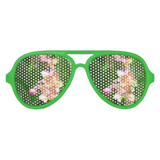 Sombras del fiesta del Orchidaceae Gafas De Sol