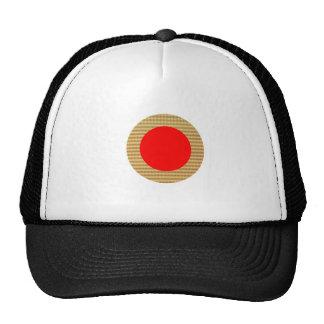 Sombras del girasol y del color del tema gorras