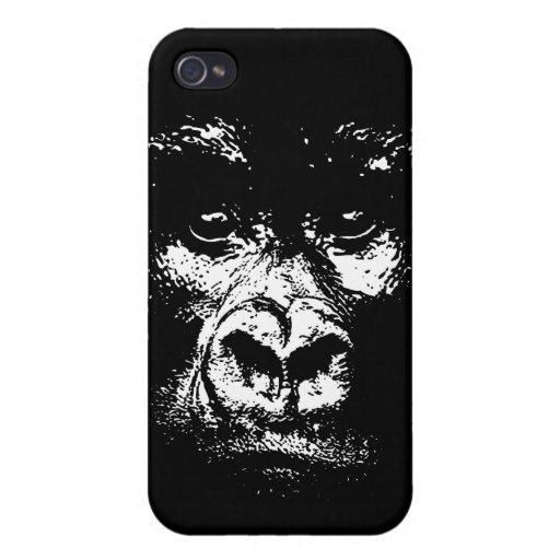 Sombras del gorila iPhone 4 cárcasa