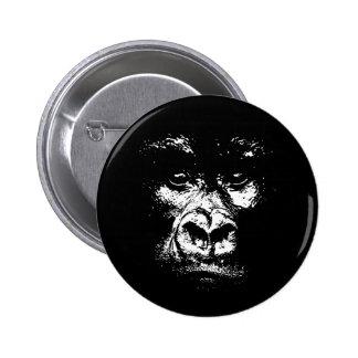 Sombras del gorila pin redondo 5 cm