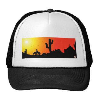 Sombras del gorra del desierto