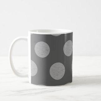 Sombras del gris taza
