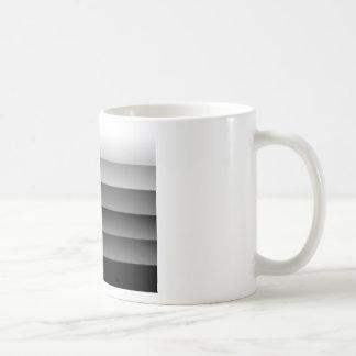 Sombras del gris taza clásica