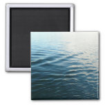 Sombras del imán azul del océano
