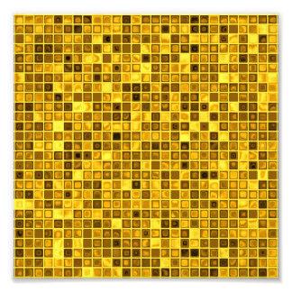 """Sombras del modelo """"acuoso"""" amarillo oscuro de las arte fotografico"""