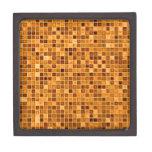 """Sombras del modelo """"acuoso"""" de la teja de mosaico  cajas de regalo de calidad"""