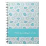 Sombras del personalizado abstracto floral del mod cuaderno