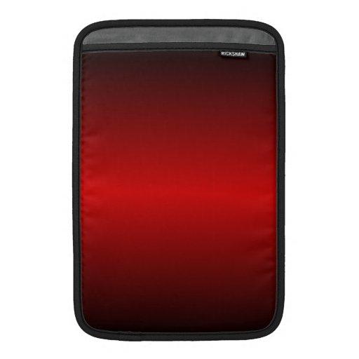 Sombras del rojo fundas macbook air