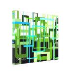 Sombras del verde de Alexandra Impresion De Lienzo