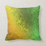 Sombras del verde y de la almohada del modelo del